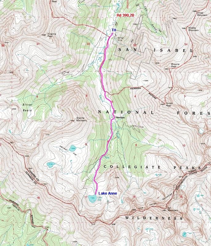 Collegiate Peaks Wilderness Colorado S Wild Areas