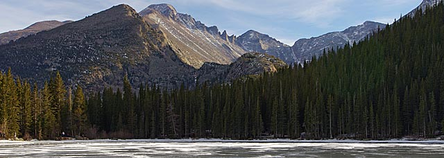 Long's Peak from Bear Lake