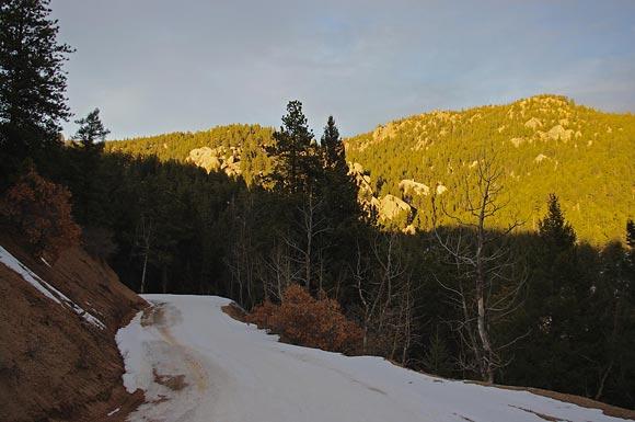 Winter In Colorado Scenery Beckons On Mt Herman Road