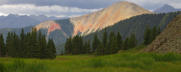 Red Mountain from Ophir Pass, Colorado