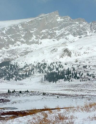 "The ""Sawtooth"" from Guanella Pass"