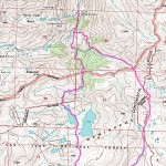 Highland Mary Lakes Topo Map