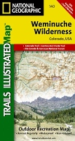 Weminuche Trails Illustrated Map # 140
