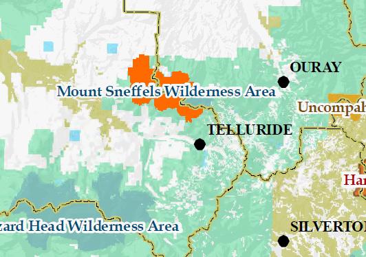 Sneffels-map