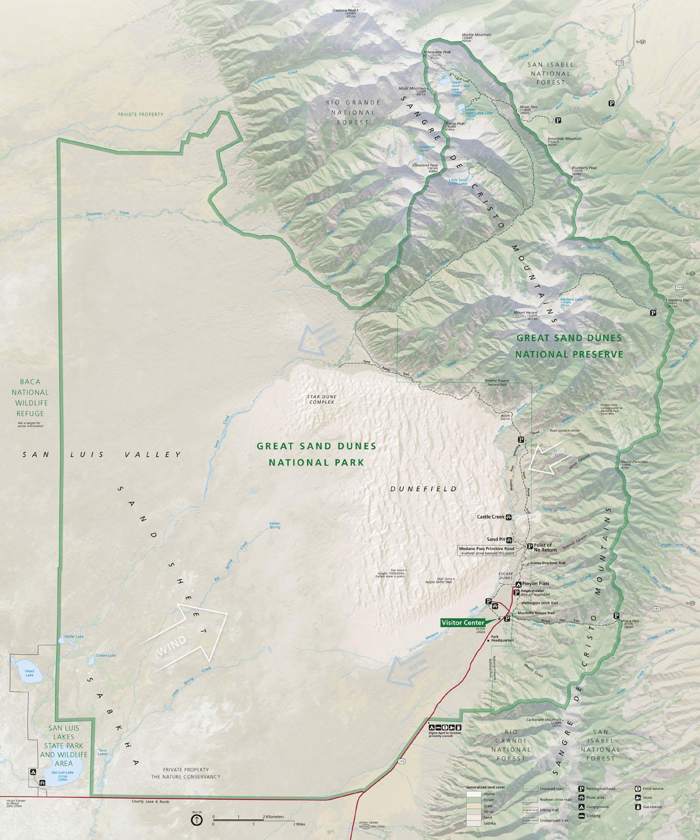 Great Sand Dunes National Park & Preserve | Colorado\'s Wild Areas