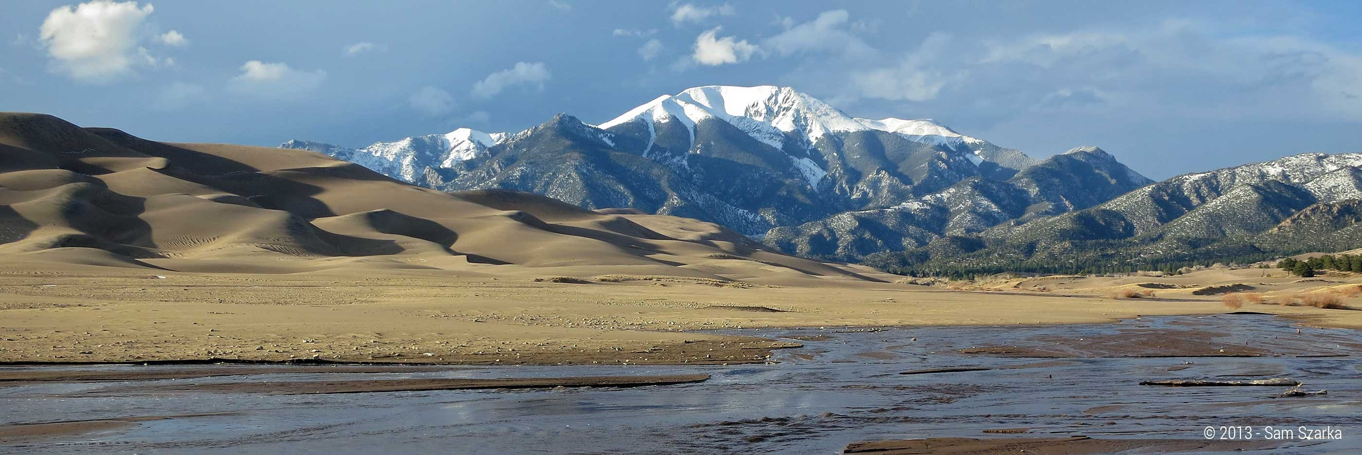 Great Sand Dunes National Park Preserve Colorados Wild Areas