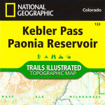Kebler Pass - Raggeds Wilderness Trails Illustrated Map