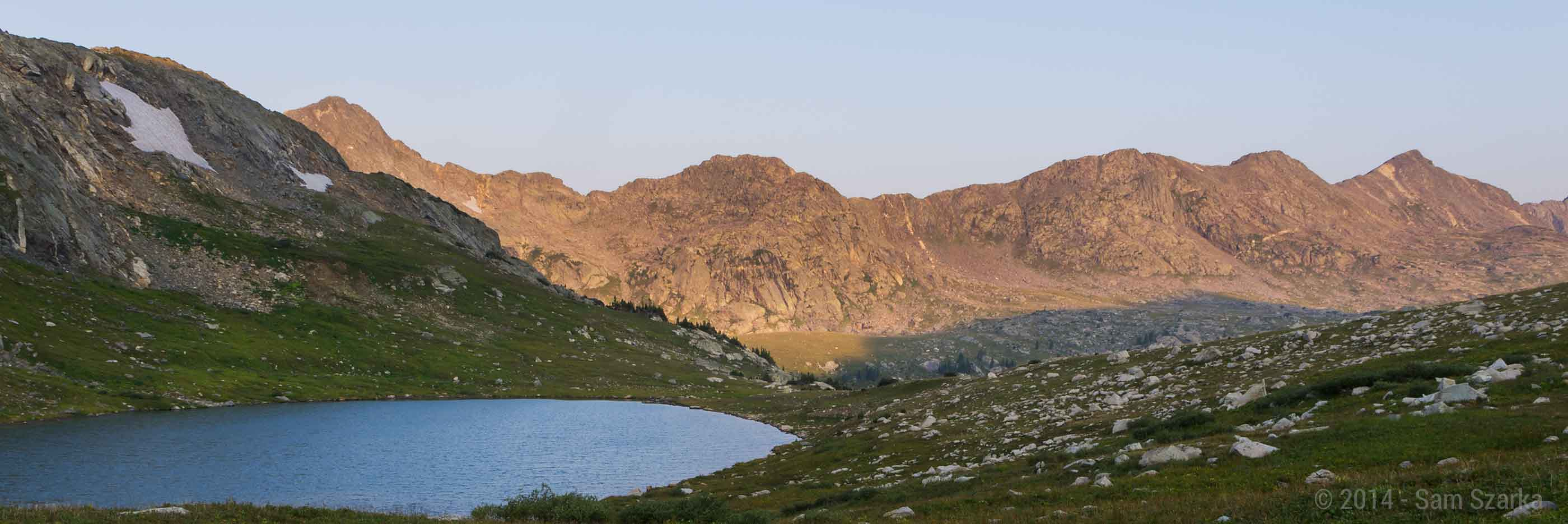 Treasure Vault Lake in the Holy Cross Wilderness