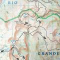 South San Juan wilderness map example