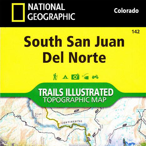 South San Juan Trails Illustrated Map