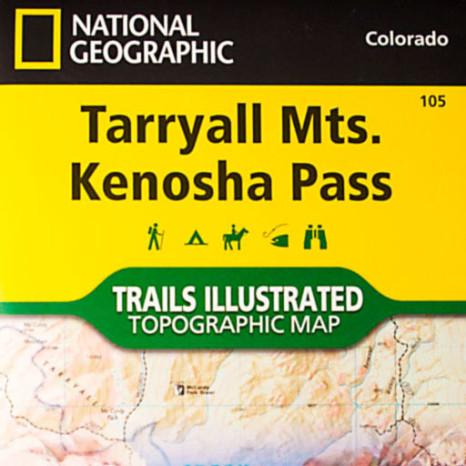 Tarryall Mts. Kenosha Pass Trail Map