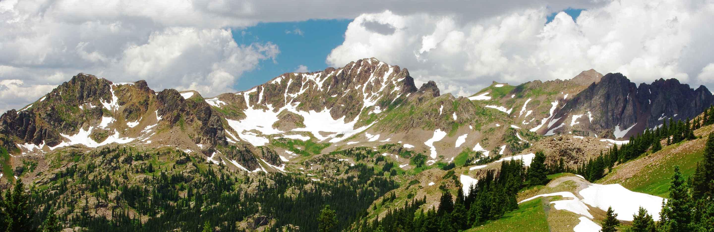 Gore Range in Northern Colorado