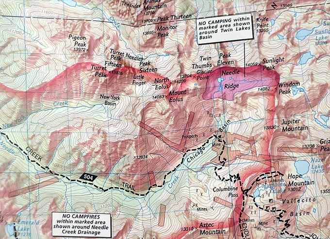 Weminuche Wilderness Map Weminuche Wilderness Map | Colorado's Wild Areas