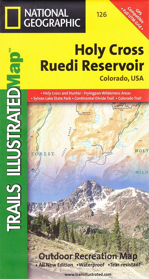 Holy Cross Wilderness Map | Colorado\'s Wild Areas
