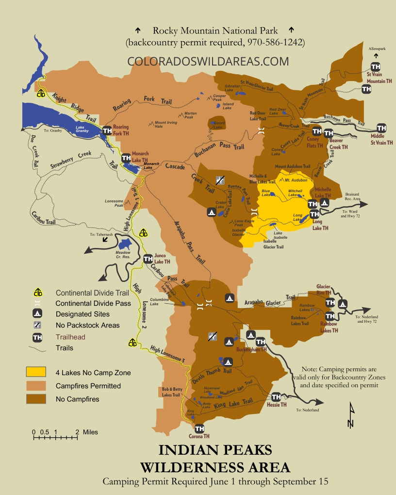Indian Peaks Trail Map | Colorado's Wild Areas on beaver creek trail map, twin sisters trail colorado map, island lake trail colorado map, crags trail colorado map, rainbow trail colorado map, waterton canyon trail map, three lakes trail colorado map,