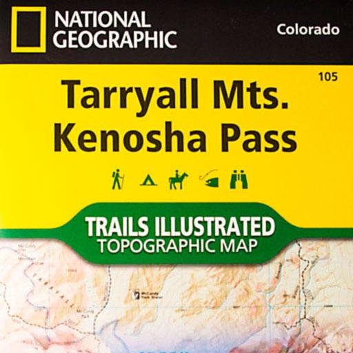 Lost Creek Wilderness Tarryall Mts Kenosha Pass Map Colorados - Trails illustrated maps